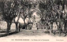CPA - ISLE S/SORGUE - LE COURS De LA PYRAMIDE ... - L'Isle Sur Sorgue
