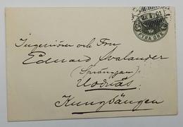Sweden SVERIGE Stationary 1901 - Sweden