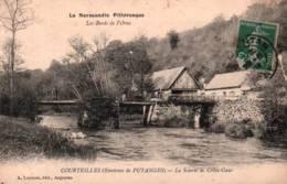 CPA - COURTEILLES - Environs De PUTANGES - LA SCIERIE De CREVE-COEUR - Edition A. Lejeune - Putanges