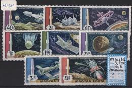 AST 48 - HONGRIE PA 309/16 Neufs**. Thème Cosmos - Poste Aérienne