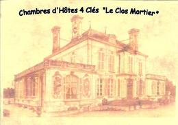 """Carte De Visite Saint-Dizier - Chambres D'Hôtes 4 Clés """"Le Clos Mortier"""" - Saint Dizier"""
