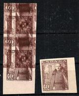 España Nº 1027 Sin Goma. - 1931-Aujourd'hui: II. République - ....Juan Carlos I