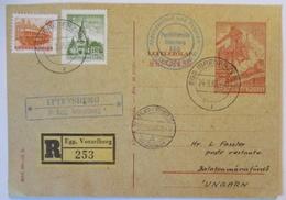 Ungarn, Retour Antwort-Ganzsache 1965 Aus Österreich, Ittenberg (35407) - Zonder Classificatie