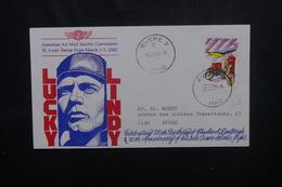 BELGIQUE - Enveloppe Commémorative Sur Charles Lindbergh En 2002 - L 54051 - Belgique