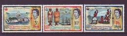 FIJI 193-195,unused - Fiji (1970-...)