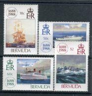BERMUDES ( POSTE ) Y&T N°  529/532  TIMBRES  NEUFS  SANS  TRACE  DE  CHARNIERE , A VOIR . - Bermuda