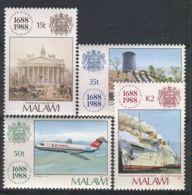 MALAWI ( POSTE ) Y&T N°  529/532  TIMBRES  NEUFS  SANS  TRACE  DE  CHARNIERE , A VOIR . - Malawi (1964-...)