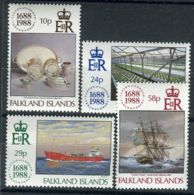 FALKLAND ( POSTE ) Y&T N°  496/499  TIMBRES  NEUFS  SANS  TRACE  DE  CHARNIERE , A VOIR . - Islas Malvinas