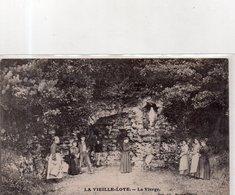 """LA VIEILLE LOYE    (AR Dole) """" La Vierge"""" - France"""
