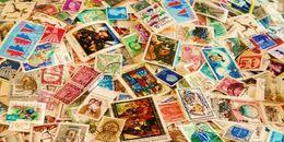 Collezione Lotto 10000 10.000 DIECIMILA Francobolli Mondiali Usati Misti Vari Internazionali A Peso SPEDIZIONE GRATUITA - Francobolli