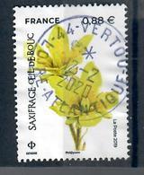 Yt 5322-4 Saxifrage Oeil De Bouc-cachet Rond-description - Oblitérés