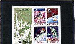 CG12 - 1969 Fujeira - Primo Uomo Sulla Luna E Satelliti - Espacio