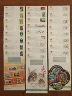 SÉRIE COMPLÈTE Des 62 PRETS A POSTER DE SERVICE D'envoi Du Catalogue De Philaposte - 01/2007 à 01/2020 - Entiers Postaux