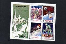 CG12 - 1969 Fujeira - Primo Uomo Sulla Luna E Satelliti - Soprastampato - Autres