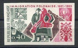 RC 15507 FRANCE N° 1740 IMMIGRATION POLONAISE NON DENTELÉ COTE 20€ NEUF ** - Frankrijk