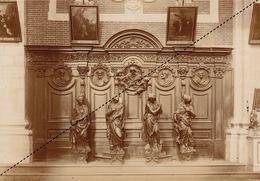1894 Belle Photo De Grimbergen Tombeau Des Bergues 17x12cm - Fotos