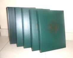 Lot De 5 Classeurs 23 X 31 Cm - 30 Pages Fond Noir- Très Bon état. - Stockbooks