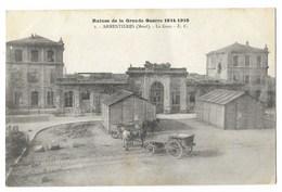 CPA 59 ARMENTIERES La Gare - Ruines De La Grande Guerre 1914-1918 - Armentieres
