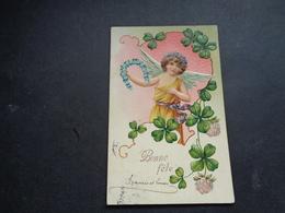 Ange ( 195 )  Engel  Angelot - Carte Gaufrée  Reliëf - Anges