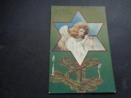 Ange ( 198 )  Engel  Angelot - Carte Gaufrée  Reliëf - Anges