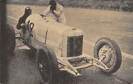 GRAN PREMIO DE ITALIA 1924.- EL INFORTUNADO CONDE ZBOROWSKI SOBRE EL MERCEDES QUE LE OCASIONÓ LA DESGRACIA - Grand Prix / F1