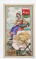 - CHROMO Chicorée Extra E. HUMBLOT, à HORDAIN (Nord) - Carte Géographique BRETAGNE - - Thé & Café