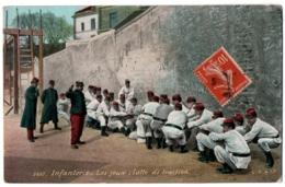 CPA Militaria - 3607. Infanterie - Les Jeux. Lutte De Traction - L.V.C - Casernas
