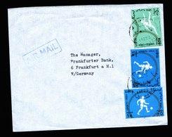 A6569) Olympia 1964 Brief Libyen N. Germany - Sommer 1964: Tokio