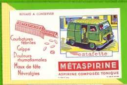 BUVARD & BLOTTER & Pharmacie METASPIRINE Estafette - Produits Pharmaceutiques
