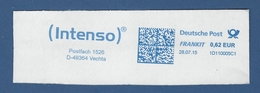Deutsche Post FRANKIT - 0,62 EUR 2015 - 1D110005C1 - VECHTA, ( Intenso ) - Machine Stamps (ATM)