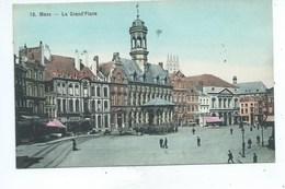 Mons La Grand Place  ( Couleur  ) - Mons
