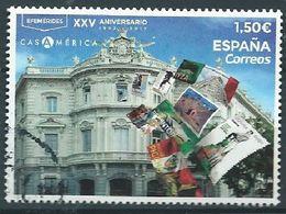 ESPAGNE SPANIEN SPAIN ESPAÑA 2019 XXV ANIV CASA AMERICA HOUSE USED ED 5334 YV 5083 MI 5372 - 2011-... Ungebraucht