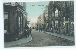 Mons Grand'Rue   ( Couleur  ) - Mons