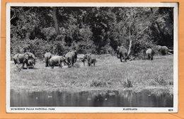Murchison Falls National Park Uganda Old Postcard - Uganda
