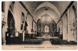 CPA 80 - SAINT VALERY SUR SOMME (Somme) - 7. Intérieur De L'Eglise - Saint Valery Sur Somme