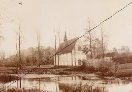 1894 Belle Photo De Overijse ? Beguinage Du Val Sainte Marie  17x12cm - Anciennes (Av. 1900)