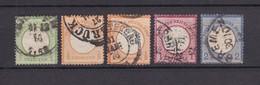Deutsches Reich - 1872 - Michel Nr. 17/20 - Gest. - 61 Euro - Germany