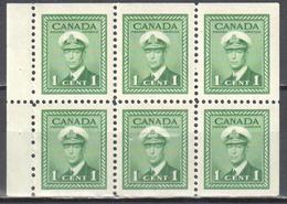 Canada 1942 - Mi.H-Bl.40 - MNH(**) - Full Panes