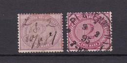 Deutsches Reich - 1875/1900 - Michel Nr. 37 - Gest. - 58 Euro - Used Stamps