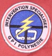 Ancien écusson GPI Gendarmerie - Police & Gendarmerie