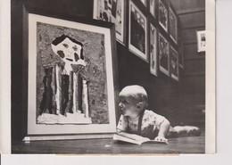 BARRY NEWSON JEUNE CRITIQUE D' ART ROYALE INSTITUTE GALLERY LONDRES EXPOSITION. 18*13 CM - Personas Identificadas