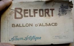 Carnet De 18 Véritables Photos De Belfort Et Ballon D'Alsace - Belfort - Città