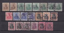 Deutsches Reich - 1905/13 - Michel Nr.  84/93 - Gest./Ungebr. - 43 Euro - Deutschland