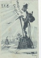 Gruss Von Der T.C.E. Chilbi - Signiert - Gel.im Thurgau - 1906   (P-219-90515) - Felicitaciones (Fiestas)