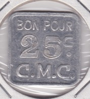 Jeton - Token - CMC - BELGIQUE - Notgeld