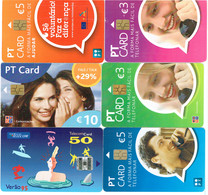 PHONECARDS-- PORTUGAL-- 6 DIFFERENTS CARDS - Portugal