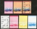 Nevis 1984 Porsche Targa Germany  1970 Sc 296 Car Automobile Transport Motor Vhicles Progressive Proof Set MNH # 3842 - Cars