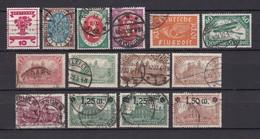 Deutsches Reich - 1919/20 - Michel Nr. 107/117 - Gest. - 51 Euro - Used Stamps