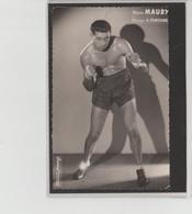 .BOXING.BOKSEN. PHOTO.Lansival    BOXEUR  M. MAURY  Man. A.Fontaine  Non Signéelé - Boxing