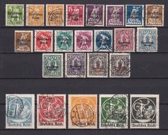 Deutsches Reich - 1920/21 - Michel Nr. 119/138 - Gest. - 130 Euro - Germany